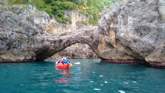 Arco degli Innamorati - Amalfi Kayak