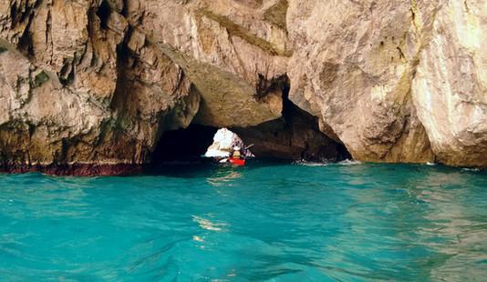 Grotta Verde, Capri - Kayak Tour