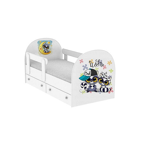 Детская кровать Енотики