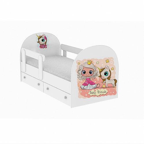 Детская кровать Фея и друзья