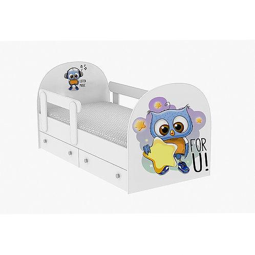 Детская кровать Совёнок