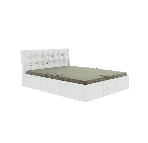 Кровать Лагуна с ортопедическим основанием и подъемным механизмом.