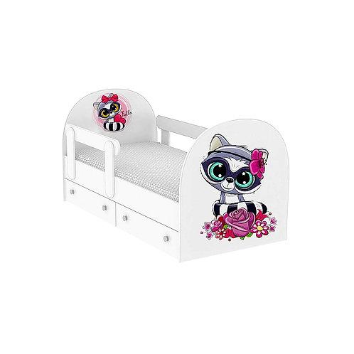 Детская кровать Енотик