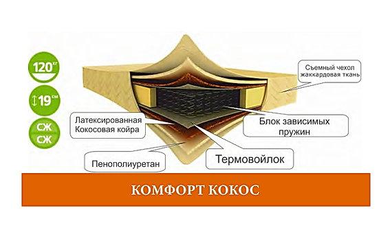 Матрас Комфорт Кокос