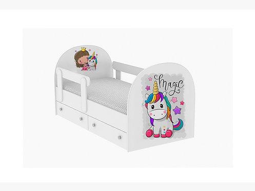 Детская кровать Единорог