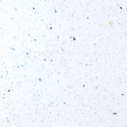 Столешница Глянцевая, 55 Ледяная искра белая, 38 мм