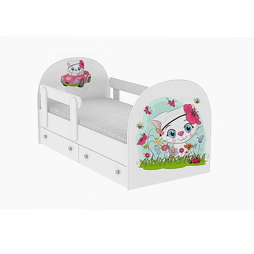 Детская кровать Кошечка