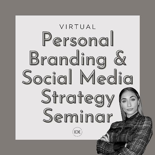 Virtual Personal Branding & Social Media Strategy Seminar