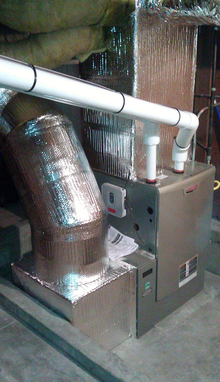 Furnace and ductings