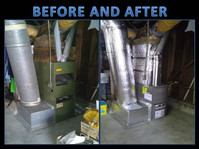 Furnace Install before-and-after
