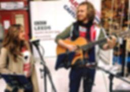 Sian and Phil on BBC Radio Leeds