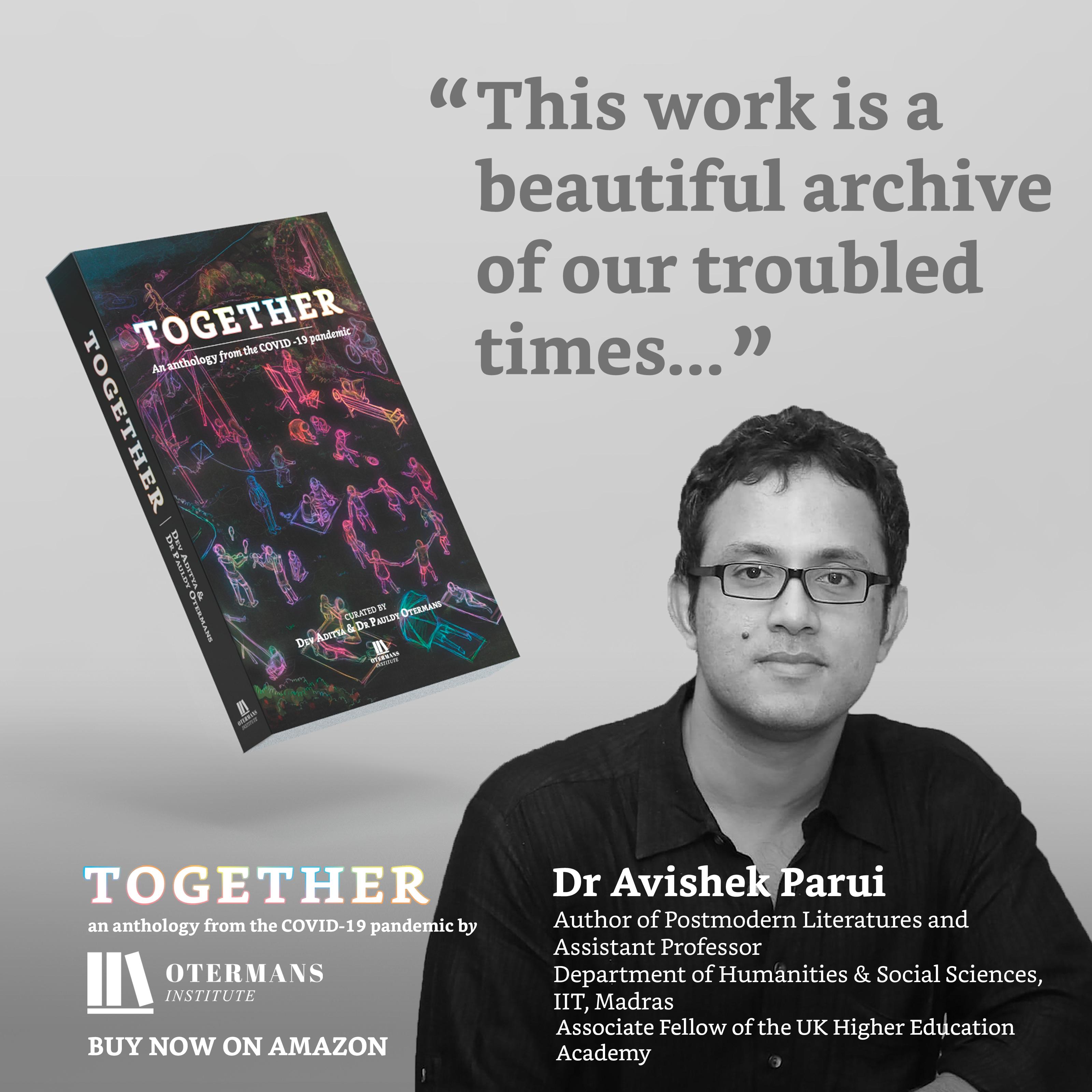 Dr Avishek Parui Quote