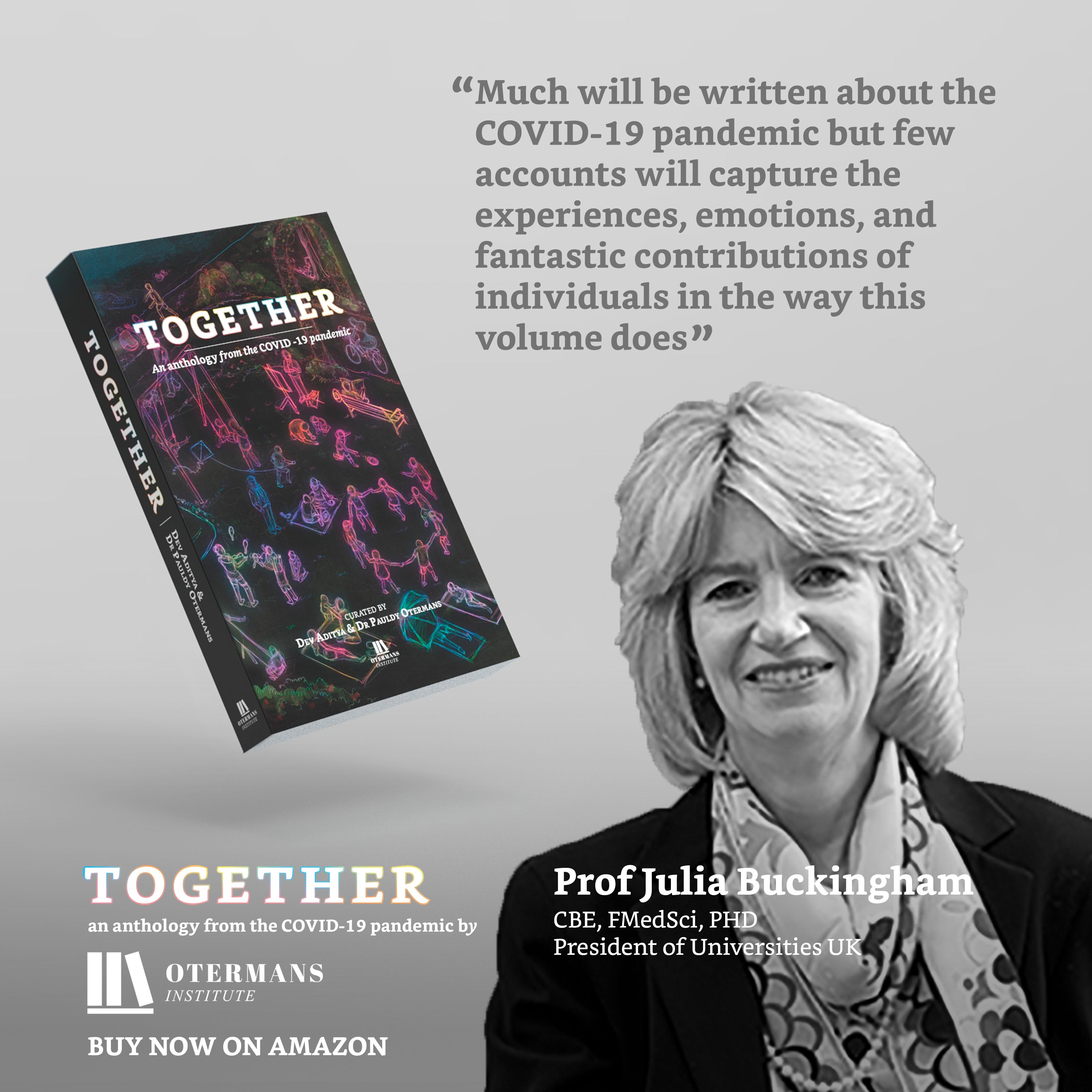Prof Julia Buckingham Quote