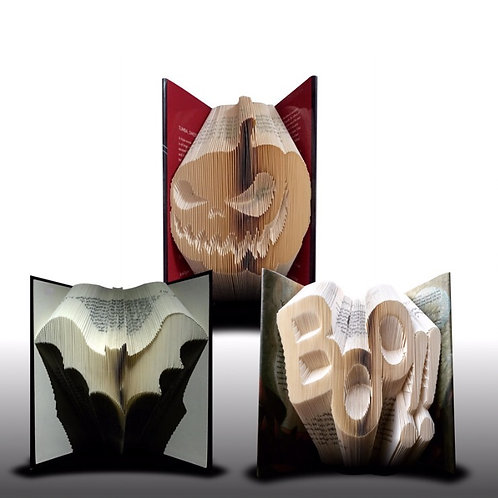 Book Folding Halloween Set 1 (Pattern)