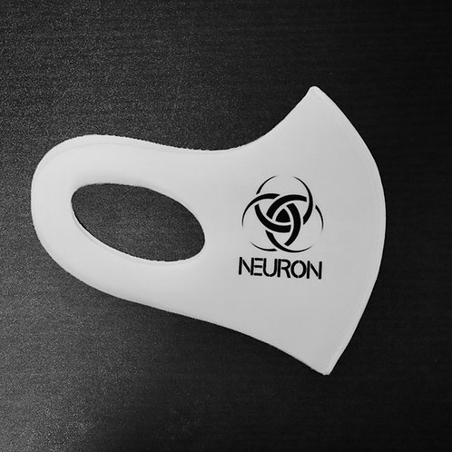 "Face Mask NEURON LOGO ""YOUR MASK DOESN'T WORK"""