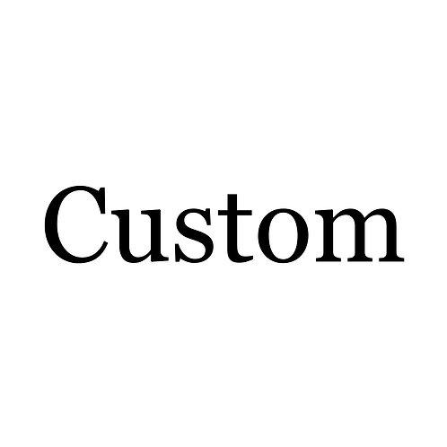 Book Folding full custom order