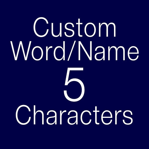 Custom Order Book Folding Name (Finished Book)