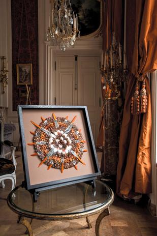Tableau plumes - Ethno star