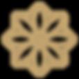 royalzenspa -logo-deep gold Pantone1405c