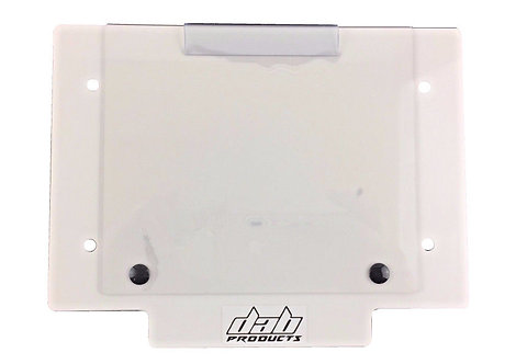 TRIALS NUMBER BOARD PLATE WITH WINDOW CARBON/WHITE/BLUE/GREEN/YELLOW/BLACK