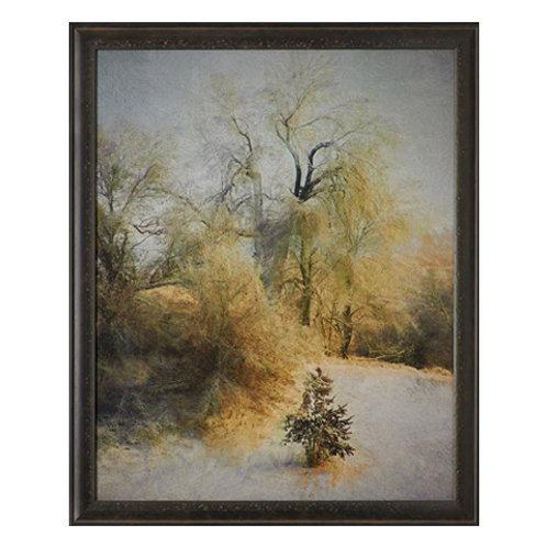 Blissful Winter-Fine Art Paper and Framed