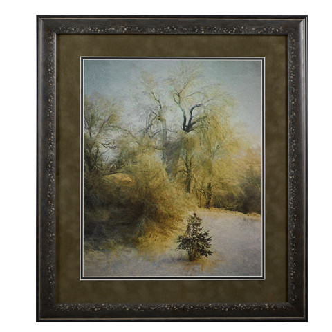 BlissFul Winter iFine Art Archival substrate. Matted, Framed, and with Glass   Ready for D