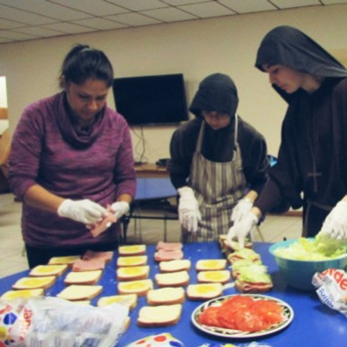 Schedule your donations for the Street Ministry on the year of 2021