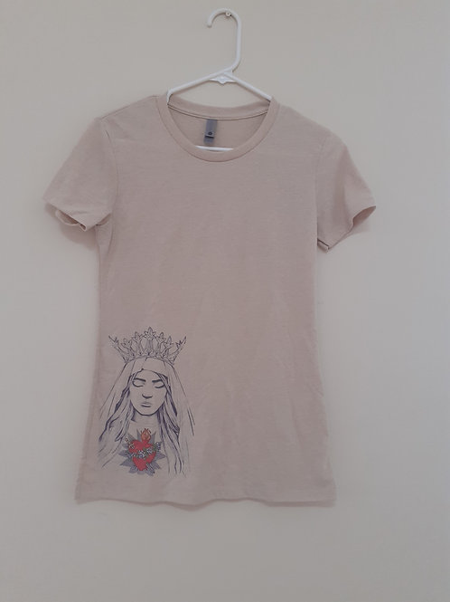 Women's T Shirts - Immaculate Heart of Mary