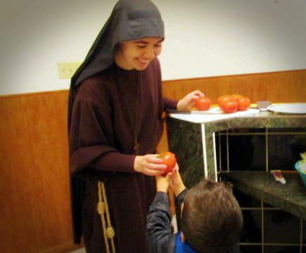 Reciving Volunteers