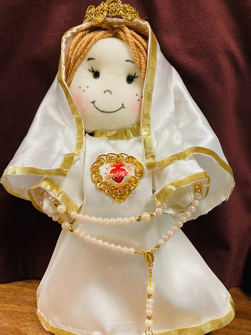Our Lady of Fátima Doll