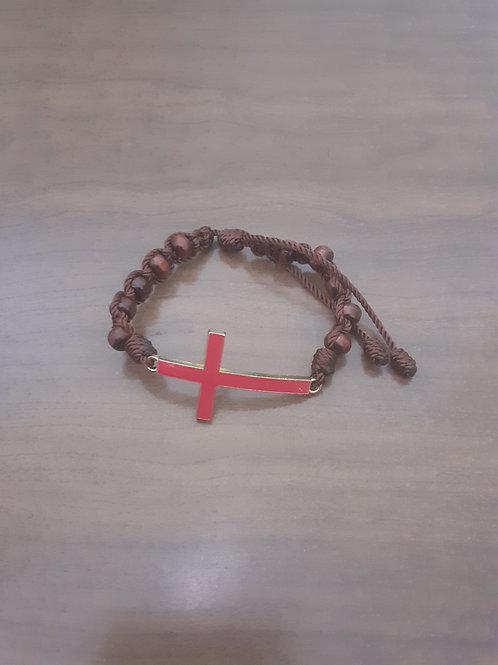 Decade Cross Bracelet