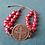 Thumbnail: Saint Benedictine Red Bracelet