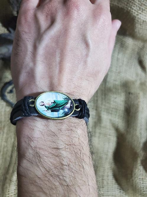 St. Jude Leather Bracelet