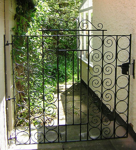 bespoke garden side gate