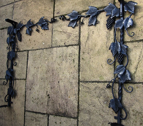 bespoke grape vine fire surround