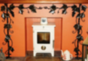 tuscan grape vine fire surround