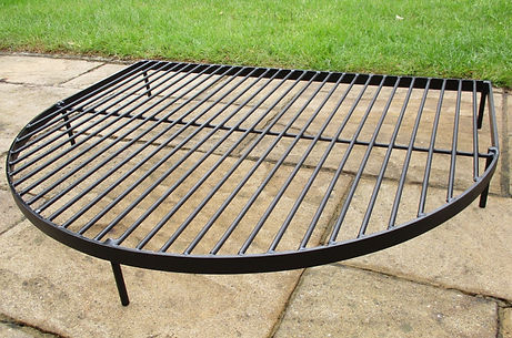 Fire pit grill / BBQ grill , made for fire pit cooking , and cooking outdoors