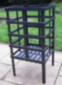 square fire brazier
