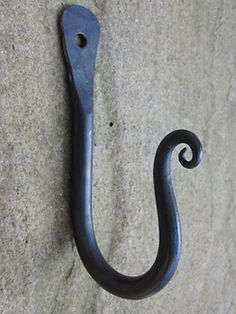 Scrolled End Hook