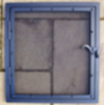 Door fire screen / fire guard