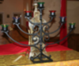 Russian orthodox church candle holder