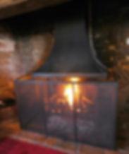 Large Ingnook fire screen