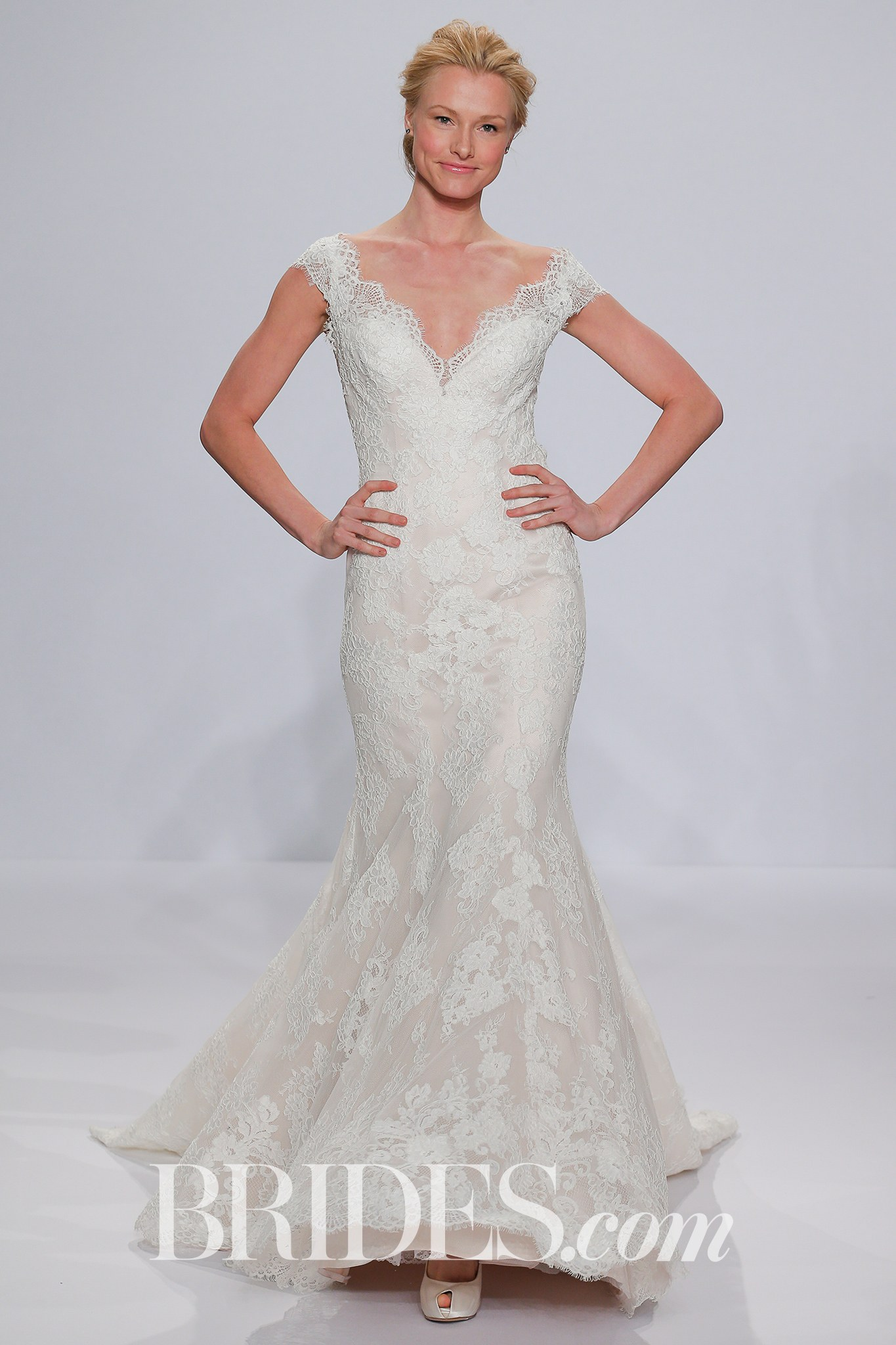 Randy Fenoli plus size wedding dress