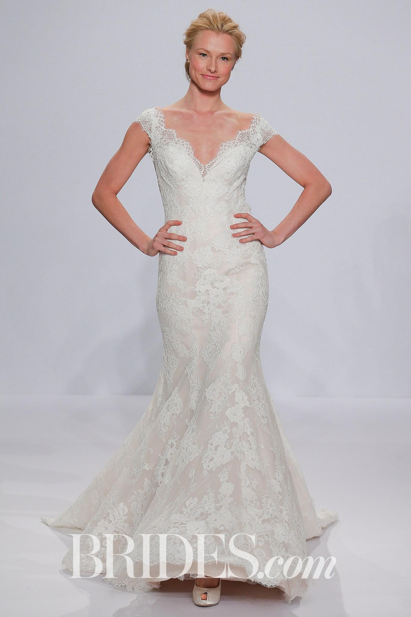 Randy Fenoli plus size wedding dress