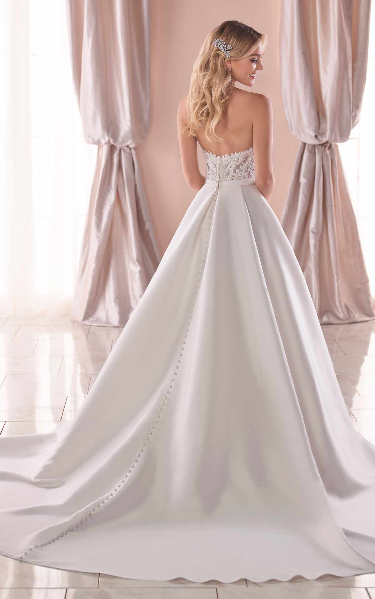 6763 plus size wedding dresses