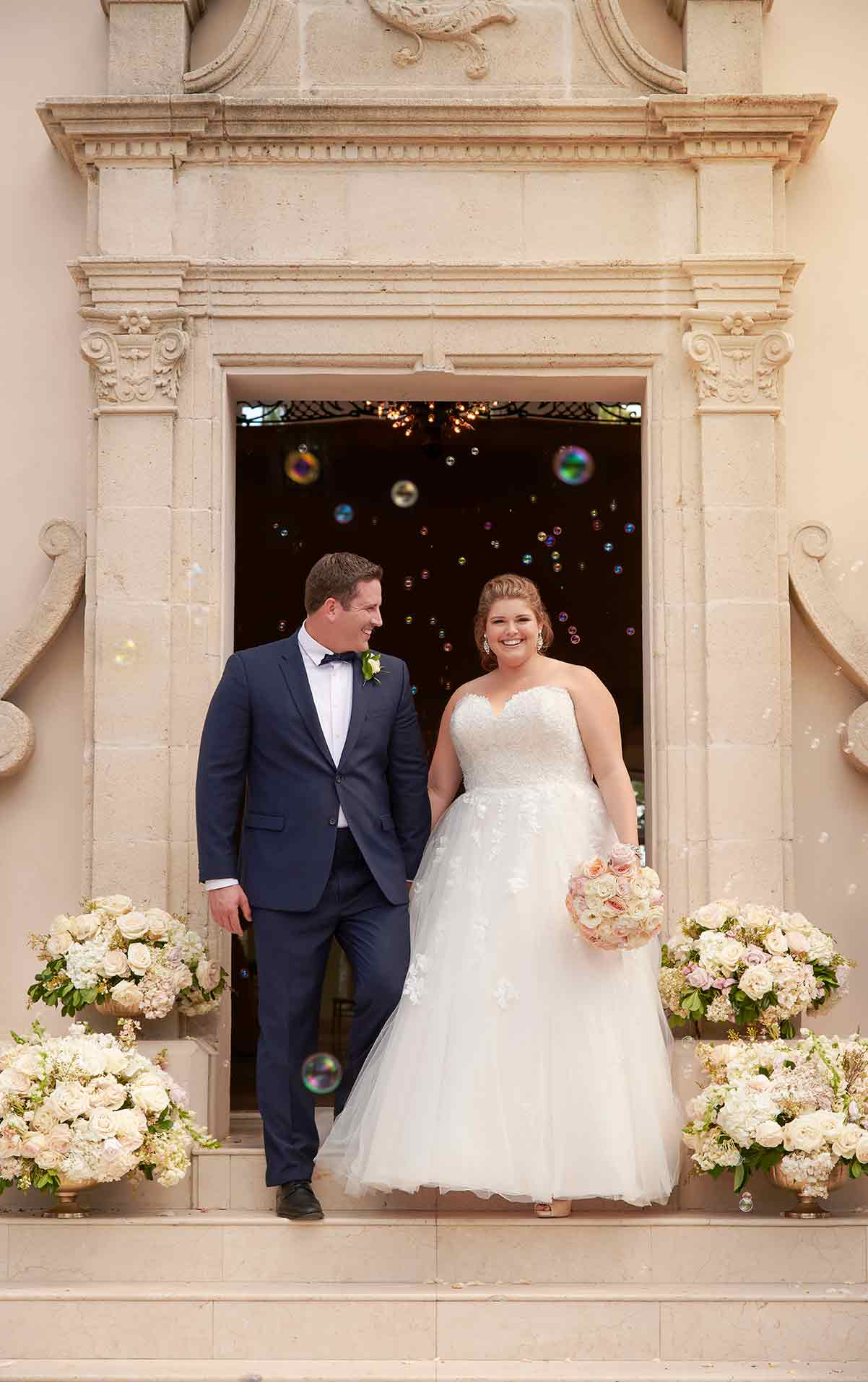 6690 plus size wedding dresses