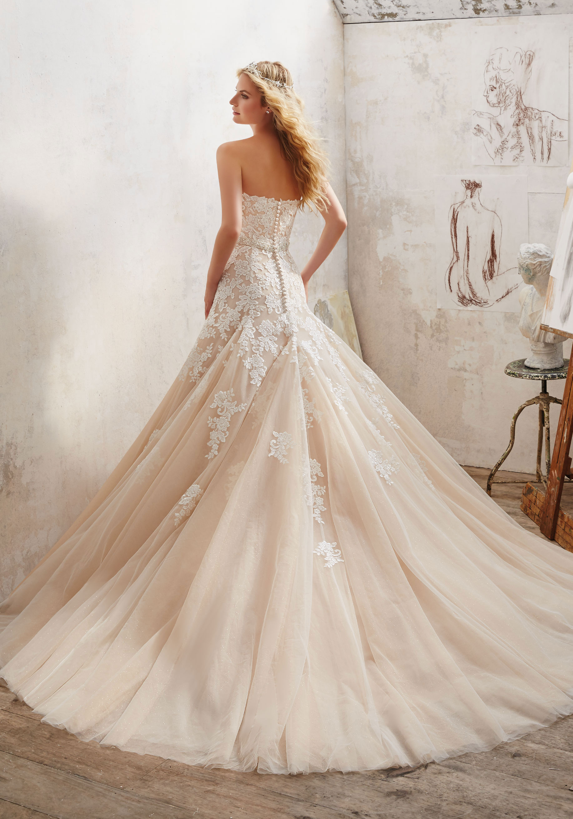 8101  Mori Lee at Aurora Bride