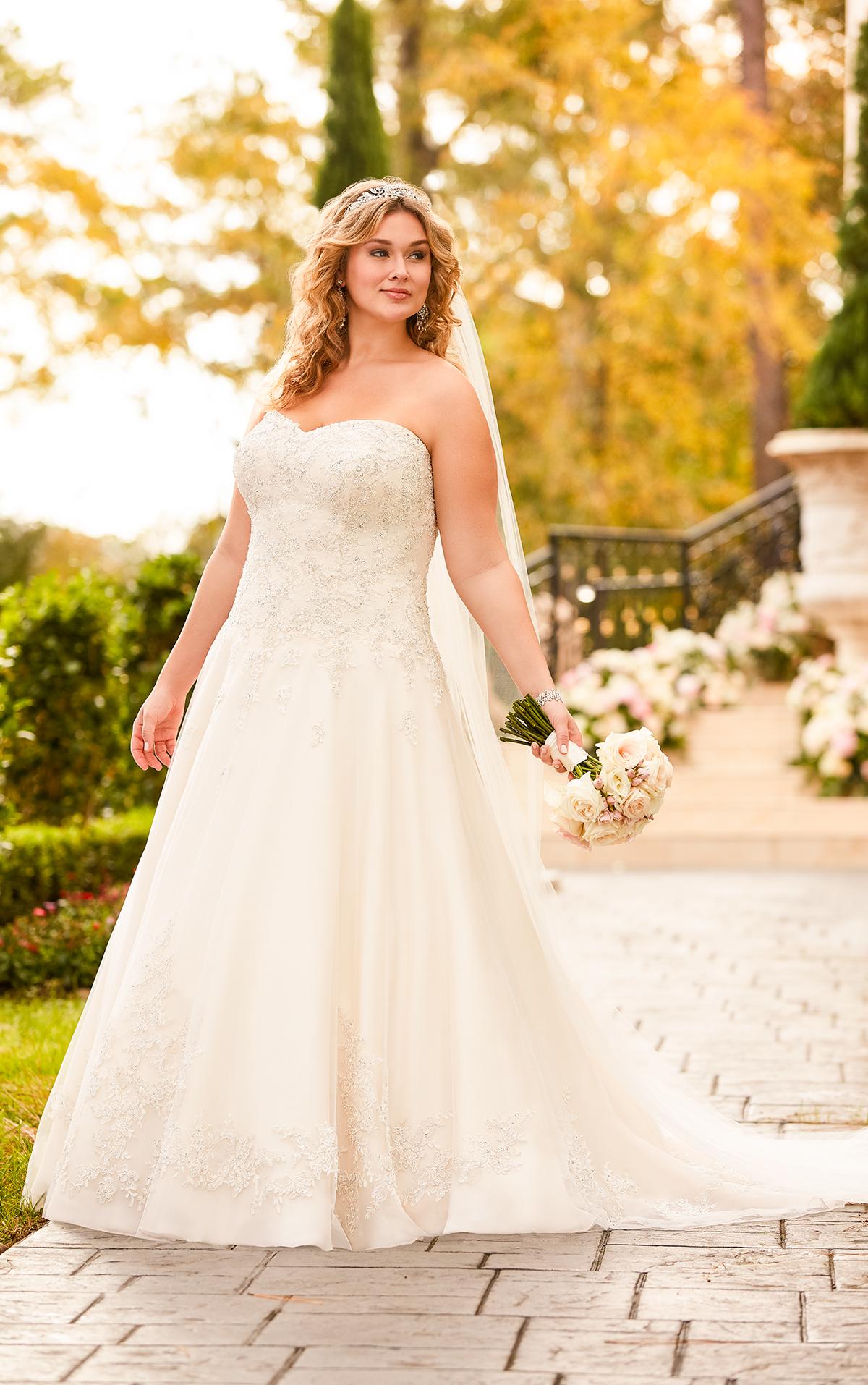 5833 plus size wedding dresses