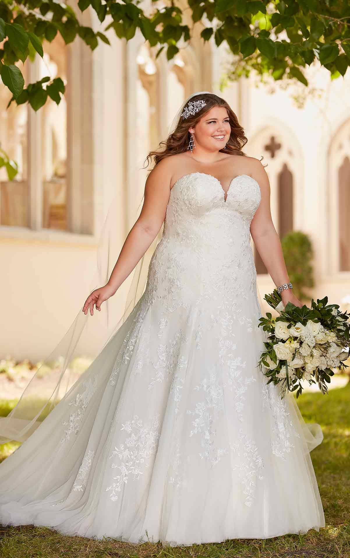 6680 plus size wedding dresses