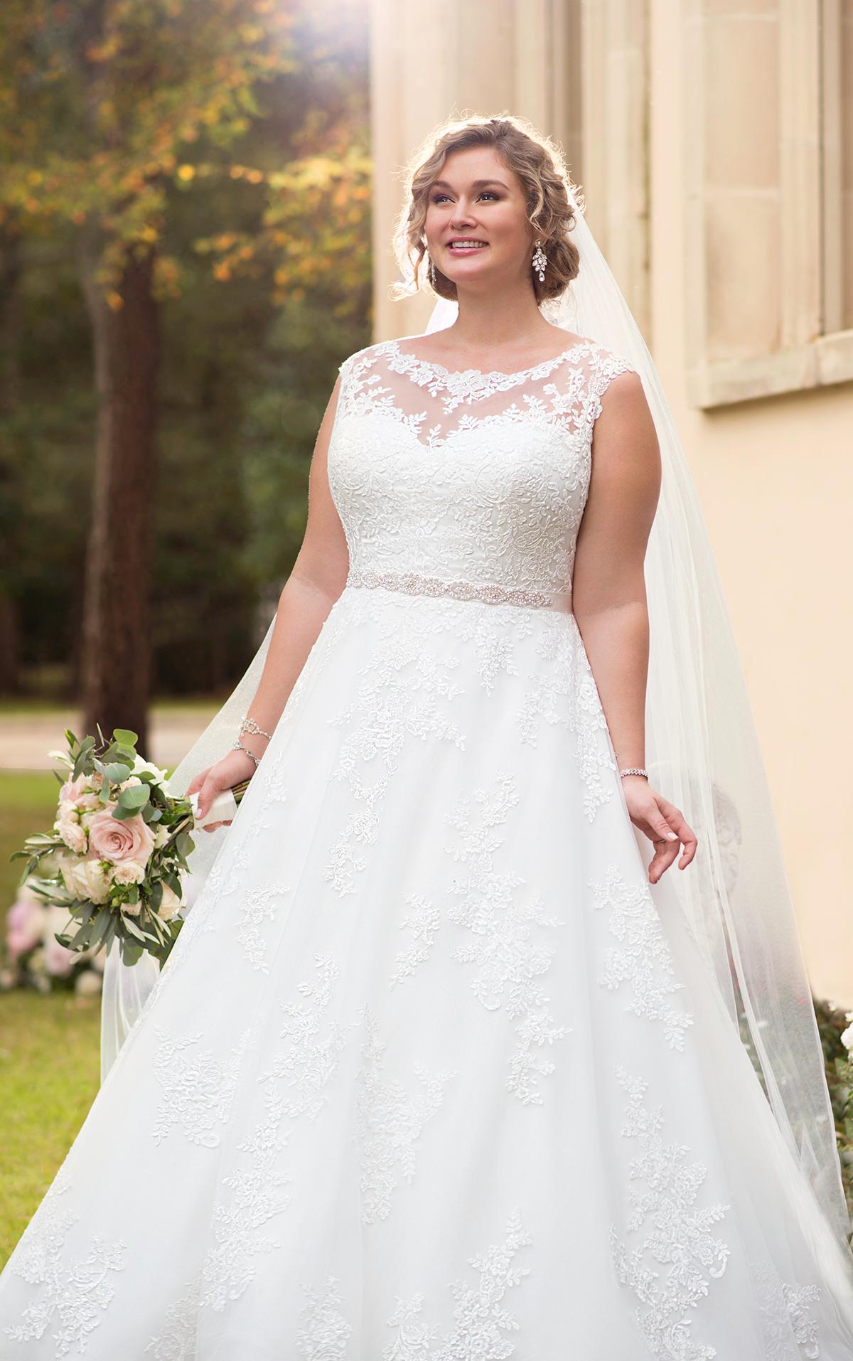 6303 plus size wedding dresses